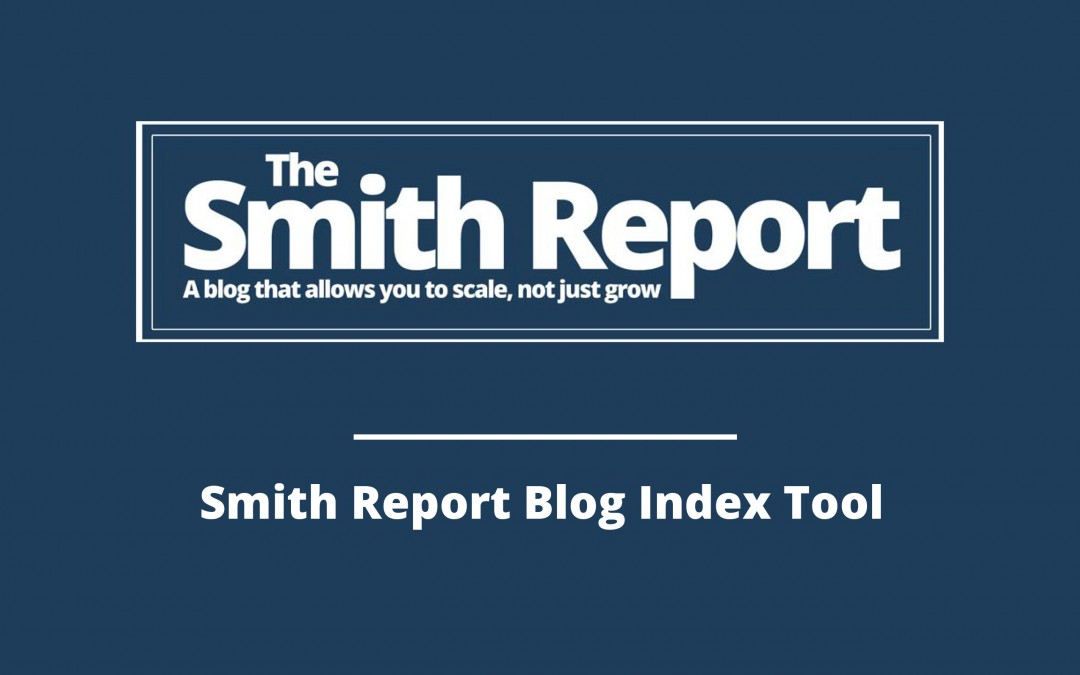 One PDF – Access to 400 Plus One Page Solutions – Smith Report Index